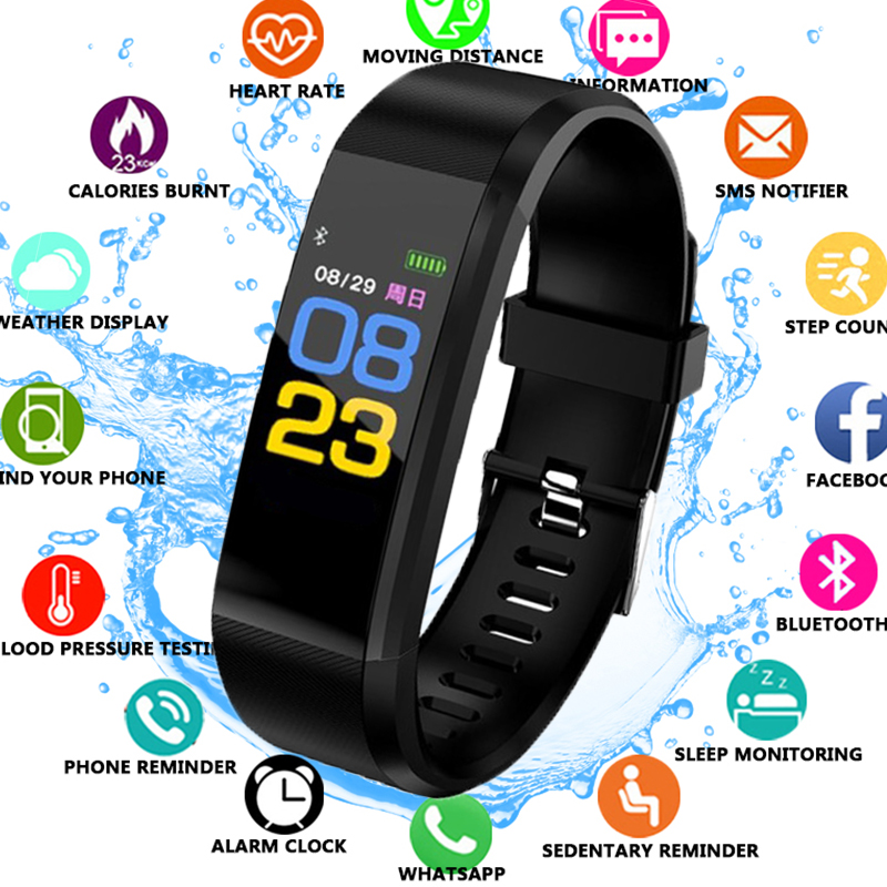 Pedometer Smart Bracelet Sport Smart Watch Blood Pressure Exercise Dynamic Heart Rate Monitoring Smart Wristband for Android iOSPedometer Smart Bracelet Sport Smart Watch Blood Pressure Exercise Dynamic Heart Rate Monitoring Smart Wristband for Android iOS