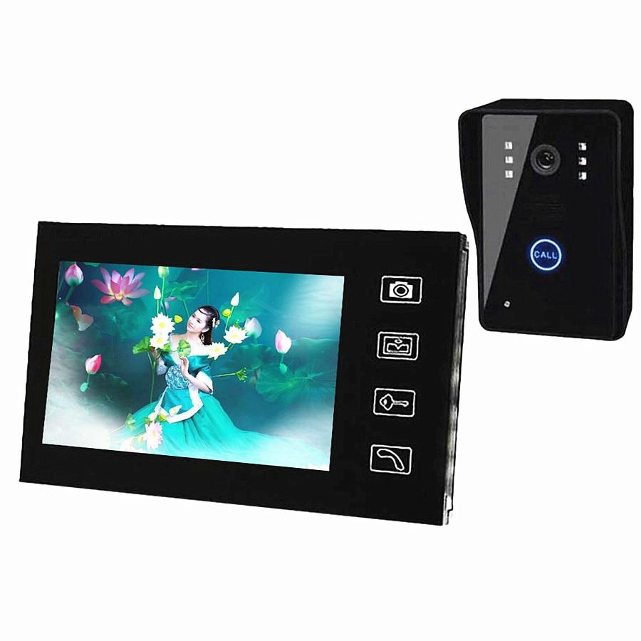 7 inç Kablosuz ev Görüntülü Kapı telefonu wifi Monitör - Güvenlik ve Koruma - Fotoğraf 5