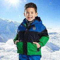 2018 Snow Winter Outdoor Children's Skiing Jacket Snowboard Coat Autumn Boy Sports Mountaineering Clothes Waterproof Jackets