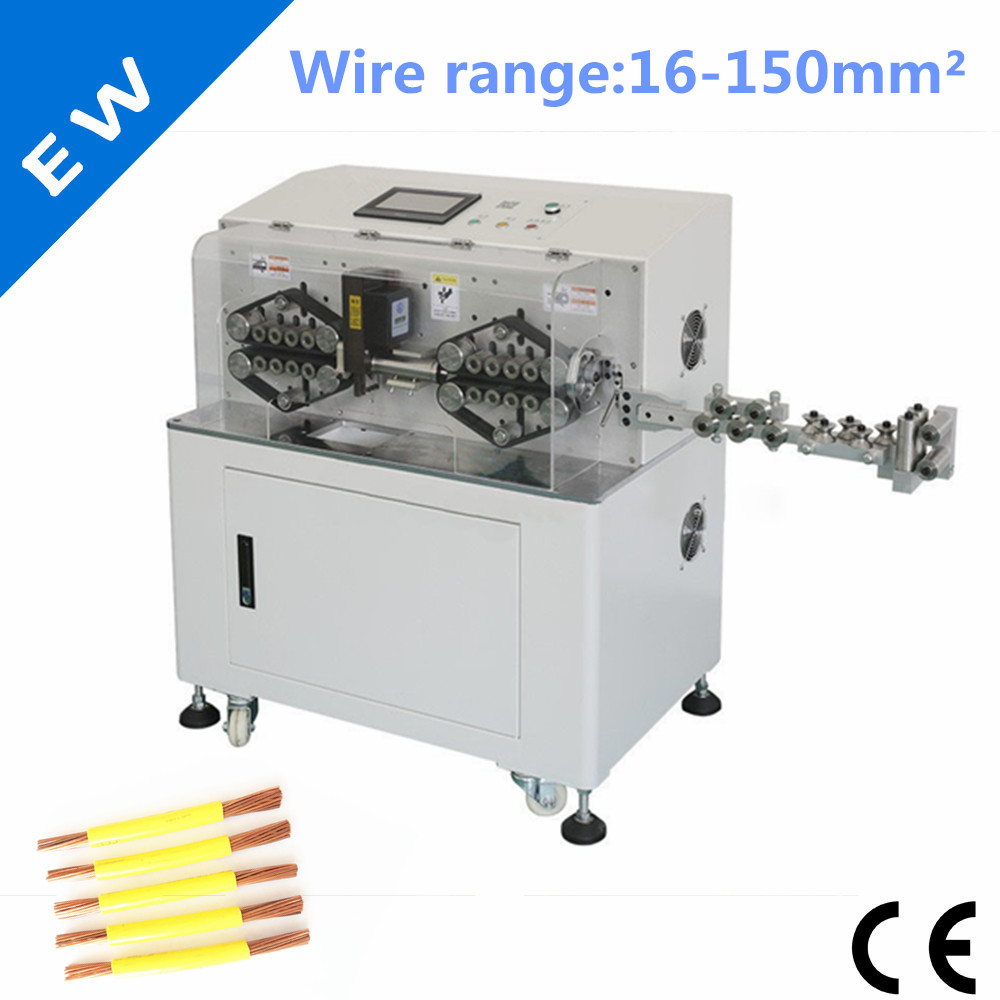 US $7250.0 |EW 05D 150mm2 Wire Stripping Cutting Machine, cable making on radio harness, oxygen sensor extension harness, suspension harness, pony harness, amp bypass harness, battery harness, electrical harness, maxi-seal harness, obd0 to obd1 conversion harness, cable harness, dog harness, safety harness, alpine stereo harness, engine harness, fall protection harness, nakamichi harness, pet harness,