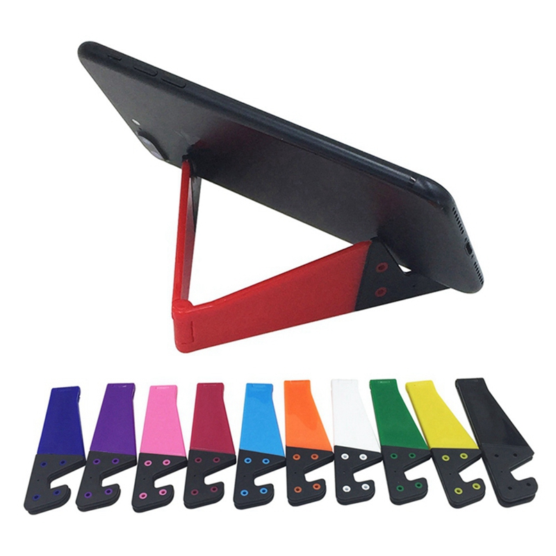 Mini 2019 New Multi-color Optional Color V-shaped Lazy Mobile Phone Holder For IPhone6s 7 8p Xs Max Xr