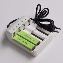 Batterie rechargeable Ni-Mh 7/5F6 1.2 mAh 1450 F6 7/5 cellule de Chewing-Gum + chargeur de batterie intelligent pour baladeur MD lecteur CD 2 à 4 pièces