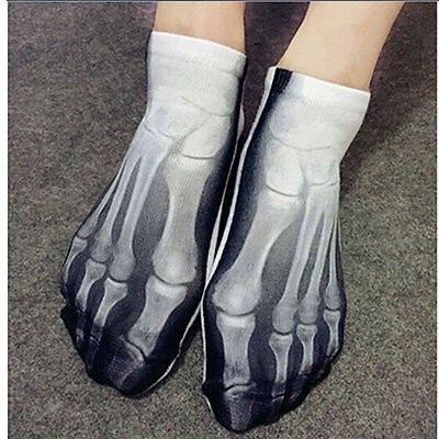 Skeleton Ankle Socks 1