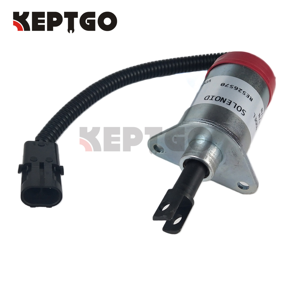 US $92 0 |RE526570 New Solenoid Valve 12V for John Deere 315 317 320 325  328 332 244J 304J-in Generator Parts & Accessories from Home Improvement on