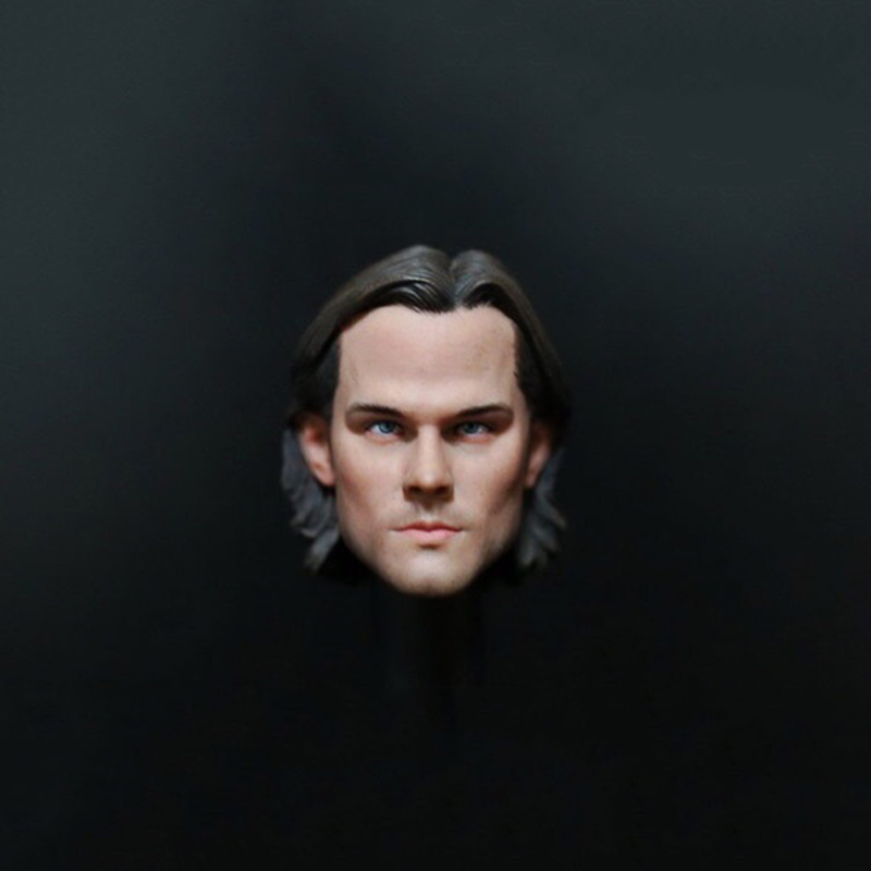1/6 Sam Winchester SUPERNATURAL Head scuplt for 12 Inches Figures чехол для iphone 6 глянцевый printio sam winchester