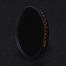Zomei 52/58/67/72/77/82 HD Fader ND Filter 9f-stop Adjustable Variable ND2-400 Neutral Density for Canon Nikon Sony Lens