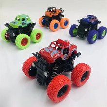 Children's Inertia Four-wheel Drive Off-road Vehicle Shockproof Shock Absorber Boy Simulation Toy Stunt Swing Bigfoot Toy Truck(China)