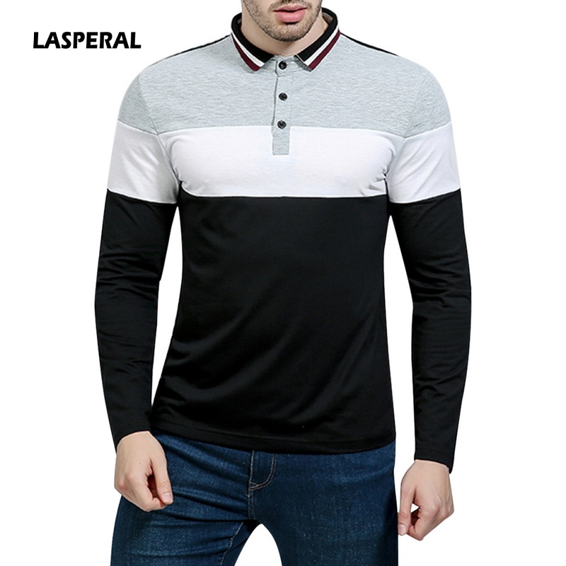 920fe4d7c2 LASPERAL-2018-New-Men-Patchwork-Polo -Shirt-Long-Sleeve-Contrast-Color-Men-Casual-Polo-Camisa-Masculina.jpg