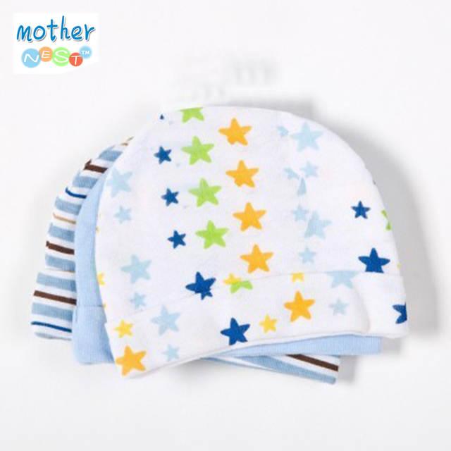 074d6d9f8 3pcs/lot Baby Hat Baby Cap Infant Cap Cotton Infant Hats Skull Caps Toddler  Boys Girls Hats