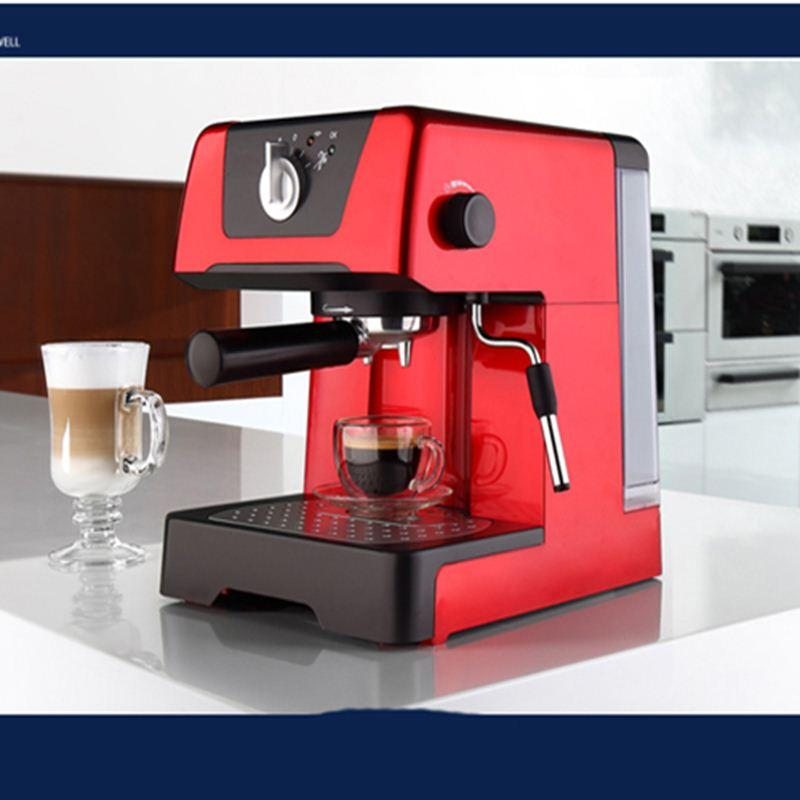 Free shipping 3A C212 semi automatic high pressure steam espresso coffee machine for home with professional pump
