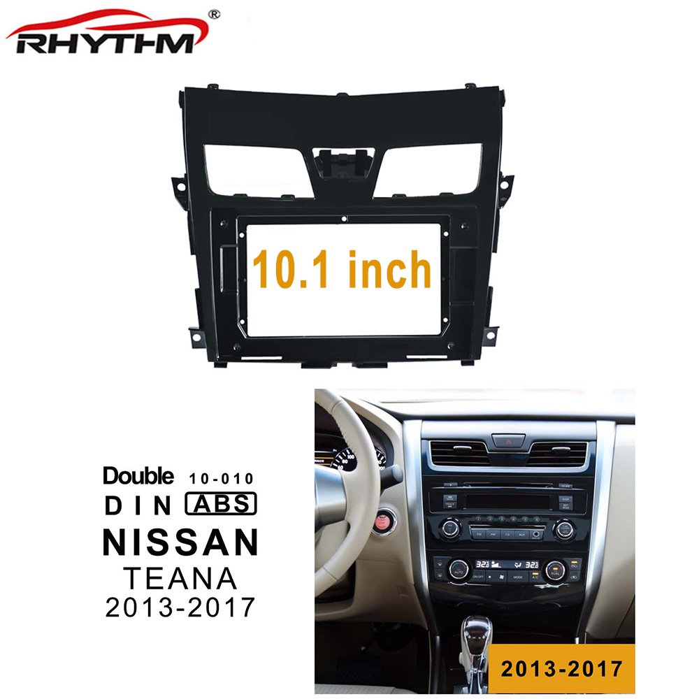 10.1 Inch 2din Car  Fascia For NISSAN TEANA 2013-2017 Stereo Panel Dash Installation Double Din CD DVD Frame