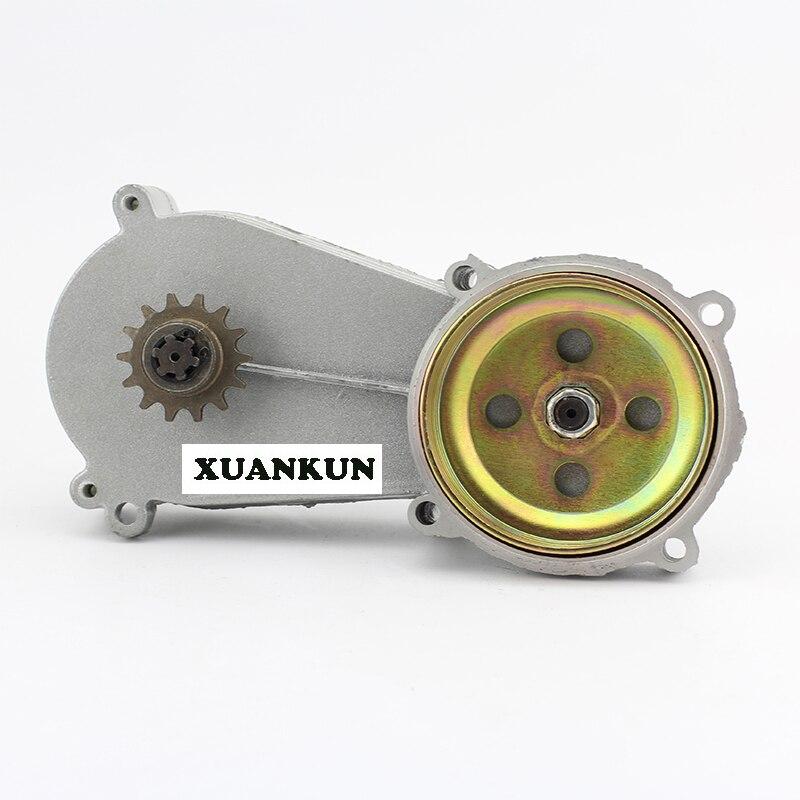 XUANKUN маленькие модели спортивных гоночных машин двухтактный 49CC Внедорожный Автомобиль Мотоцикл Коробка передач Передняя цепь колеса звезд