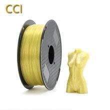 3D Printer filament crystal PLA 1 75 mm Yellow black grey white blue 1kg Printing material