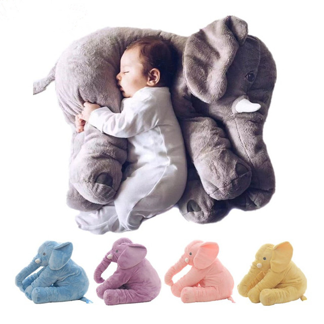 Baby Elephant Pillow Stuffed Animal Toy Children s Bed Pillow For Pregnant  Women Almohada Kid Sleep Elephant Baby Infant Pillow 59a7191fa