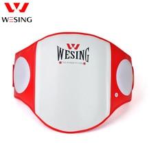 лучшая цена Wesing Muay Thai Waist Guard Protector Waist Abdominal Belly Pad Boxing Sanda Fighting Waist Target Training Belly
