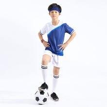 Los niños De fútbol Sets Survetement Football kit Futbol muchacho joven  entrenamiento deportivo chándal uniformes traje Maillot . 4b7e64838e6cb
