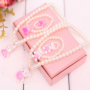 New Imitation Pearl Beads Bear