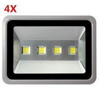 4pcs Perfect Led Flood light 200W Led Spotlight IP65 Waterproof Led Outdoor light Reflector Spot Floodlight Outdoor lighting