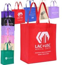 100PCS/Lot Custom Non-Woven Shopping Bag Polypropylene Tote bag with logo