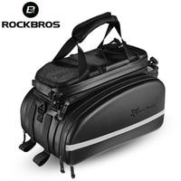 ROCKBROS 3 In 1 Bicycle Bags Waterproof Reflective Multifunctional MTB Cycling Bike Bag Pannier Travel Luggage Package Bags