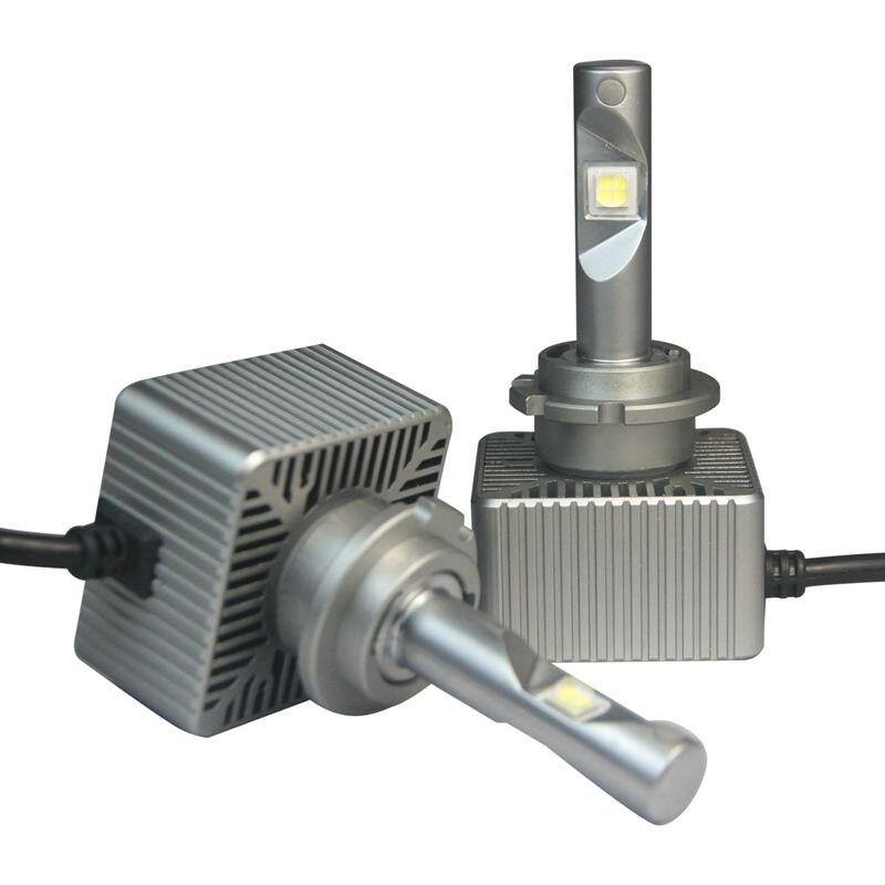 Phare LED automatique 12V 35W changement direct de phare automatique près de l'ampoule universelle pour d1s D2S d3s d4s intégration Conversio
