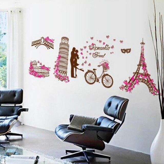 paris eiffel tower wall stickers beautiful france wall stickers eiffel tower giant wall stickers