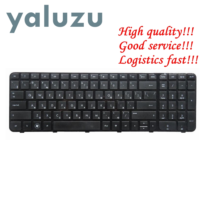 YALUZU Russian Laptop Keyboard For HP FOR Pavilion G6 G6-2000 G6Z-2000 G6-2100 G6-2163sr AER36Q02310 R36 RU Black With Frame New