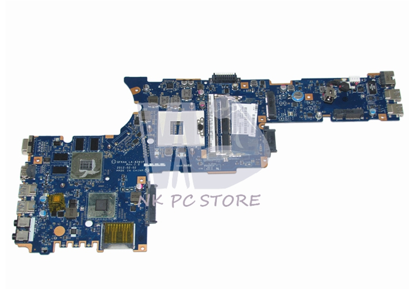 NOKOTION LA-8391P K000135190 Main Board For Toshiba Satellite P850 P855 Laptop Motherboard HM77 DDR3  GT630M