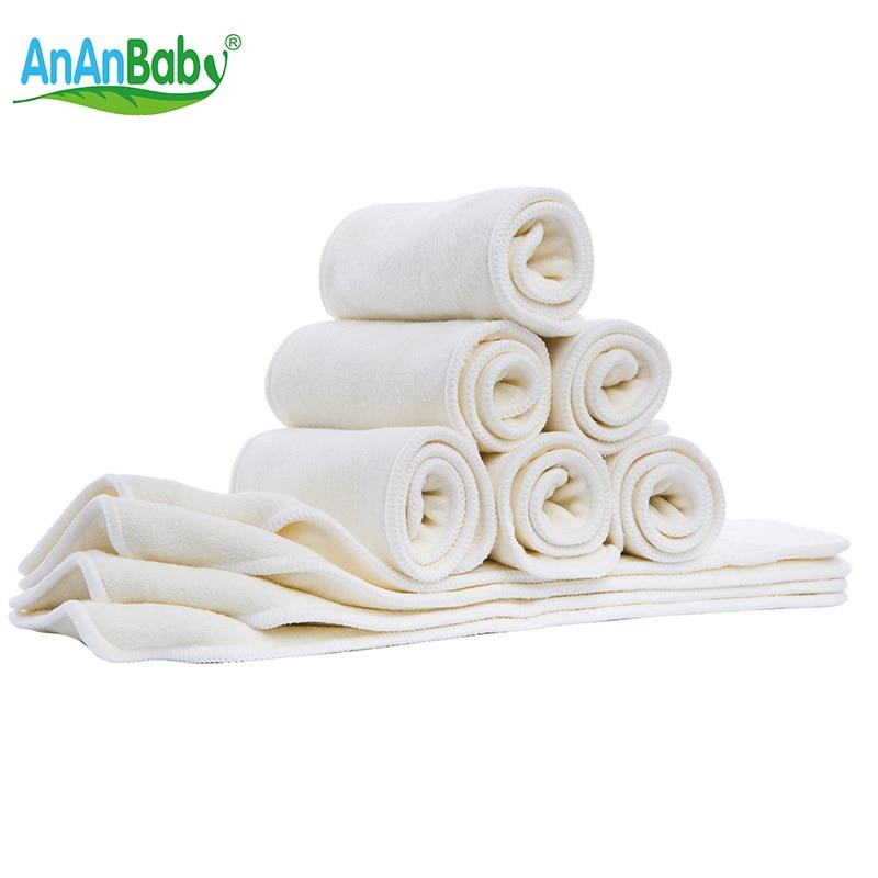 Ananbaby dětské opakovaně použitelné bambusové kalhoty Super - Plenky a trénink WC