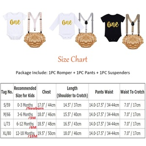 Image 5 - Cake Smash Outfit Baby Newborn Birthday Party Clothes Baby Boy & Girl Clothes for Photography Cute Baby Suspenders Shorts Outfit
