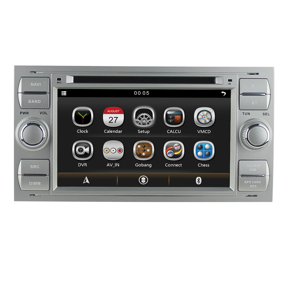 Touch screen car pc dvd gps for ford focus 2 mondeo fiesta transit kuga fusion galaxy