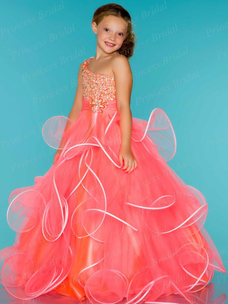Free Shipping Fairytale Ball Gown One Shoulder Floor Length Long ...