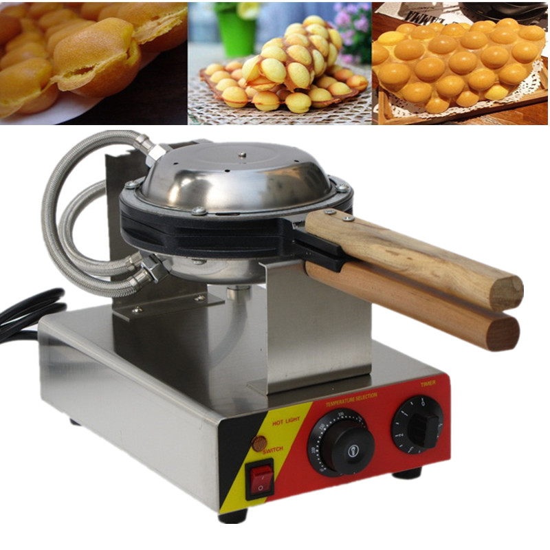 Kitchen Appliance Stainless Steel 110V 220V Electric Hong Kong Style Egg Bubble Waffle Maker Bubble Waffle Maker 75 coreless drill bit well drilling pdc drag bit for mining drilling bit geological exploration