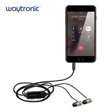 Наушники-вкладыши входящий исходящий мобильный регистратор вызовов приемник для iPhone сотовый WhatsApp whskype звонки запись