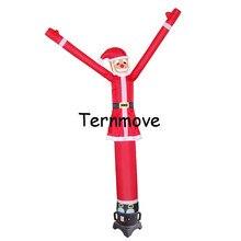 Наружный Рождественский Санта-Клаус танцующий человек, надувной танцор воздуха, танцор неба надувной Свадебный танцор воздуха