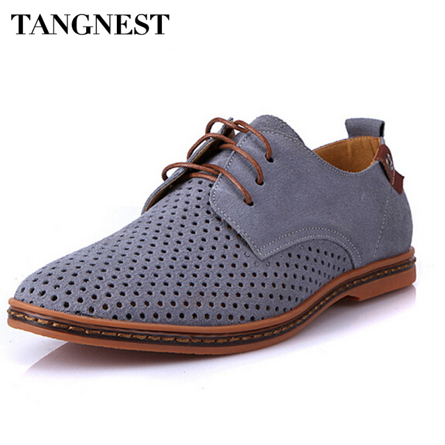 tangnest hommes richelieus chaussures homme 2018 d 39 t respirant en cuir su d chaussures homme. Black Bedroom Furniture Sets. Home Design Ideas