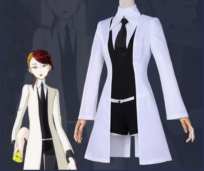 New Anime Houseki no Kuni Phosphophyllite Cosplay Uniform Land of the Lustrous Bort Diamond Costumes Jumpsuits Rutile Cos Coat