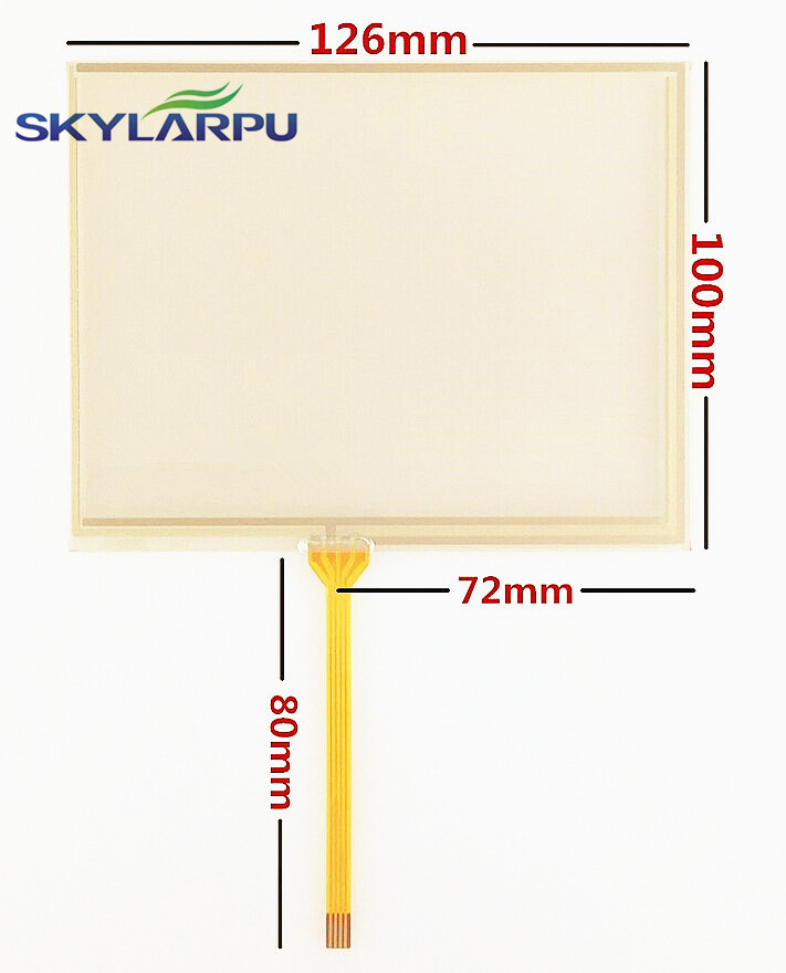 skylarpu 10pcs lot New 5 6 inch 126mm 100mm Touch screen for TM056KDH01 AT056TN53 V 1