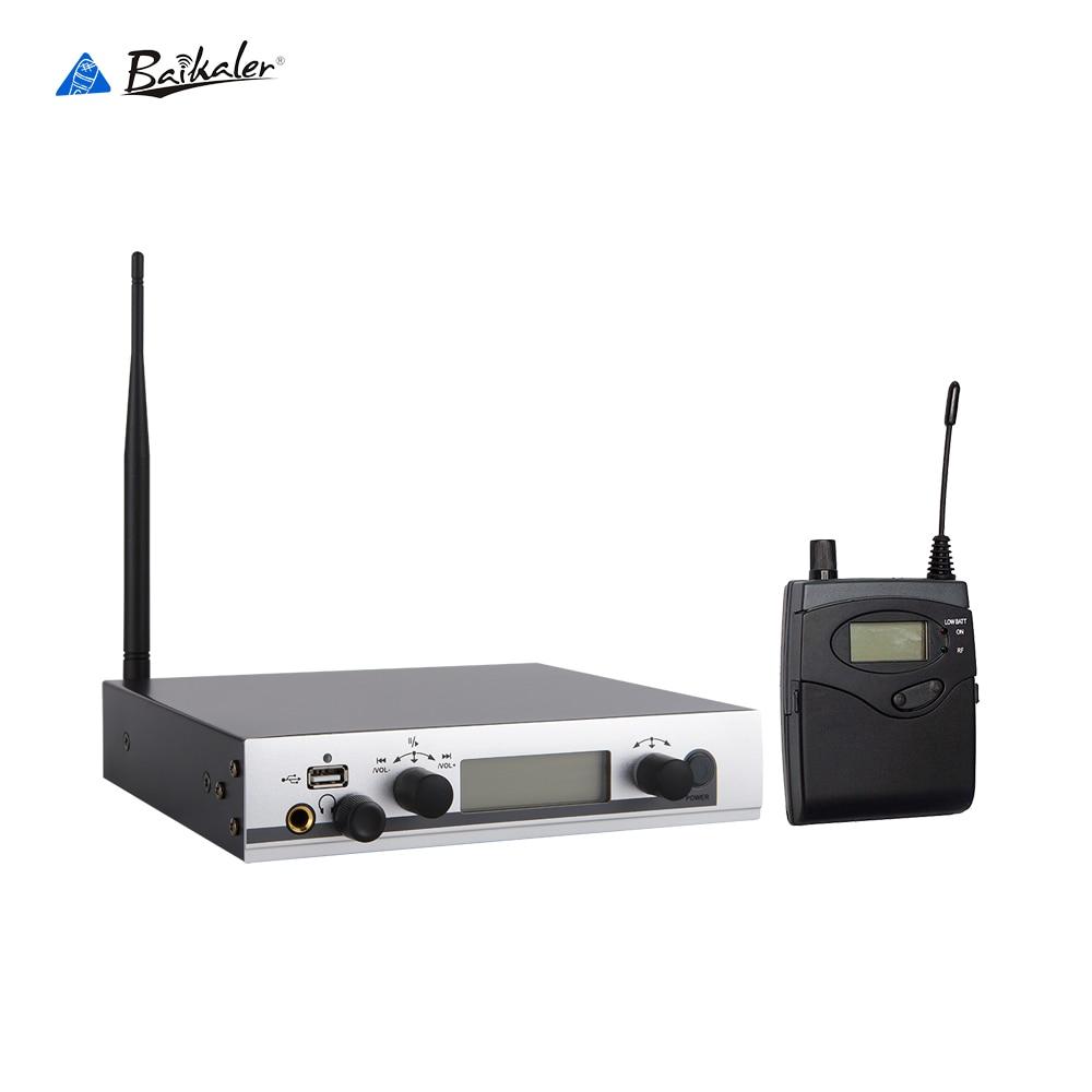 Professional EW300 IEM G3 SR 300 IEM G3 Wireless in ear Stage Performance Monitor System Headphone Bodypack Receiver Sender ew300 iemg3 in ear monitor wireless system with usb function quality ew100 iem g3 g3 iem ek 300 monitoring with in earphone