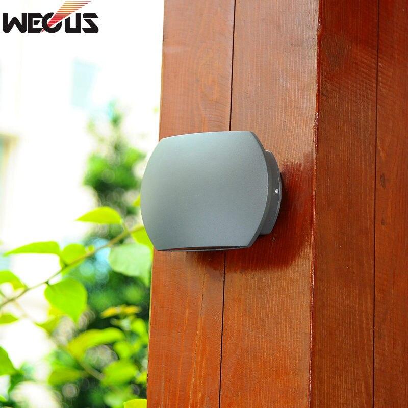 [WECUS] Outdoor Courtyard Wall Lamp, Waterproof Household/engineering Villa Garden Hallway Lamp, Balcony Staircase Wall Lamp