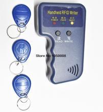 125 KHz RFID ID Lector de Tarjetas y Escritor/Copiadora/Duplicador/Programmer + 3 unids Grabables Etiquetas Acceso Control