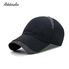 39afed7f 2017 Outdoor Thin Breathable Baseball Cap Waterproof Quick-drying Sun Hat  Sunscreen Cotton Snapback Cap