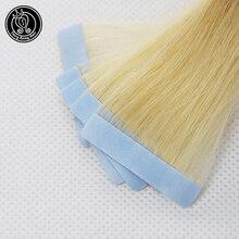 Настоящие Волосы Remy на ленте для наращивания, бесшовные волосы для наращивания на коже, образцы салонов, 5 шт. для тестирования волос, сказочные волосы remy, 2,0 г/шт., 10 г/упак