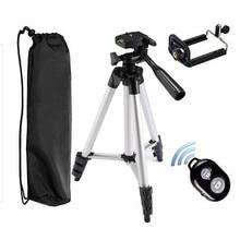 3 في 1 Bluetooth4.0 التحكم عن بعد الموقت الذاتي مصراع الكاميرا كليب حامل ترايبود مجموعات هدية الارتفاع 360mm-1155mm