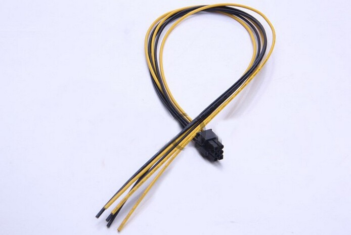 PCI-E Graphics Video Display Card 6Pin Power Supply Cable 18AWG Wire For ATX PSU DIY купить