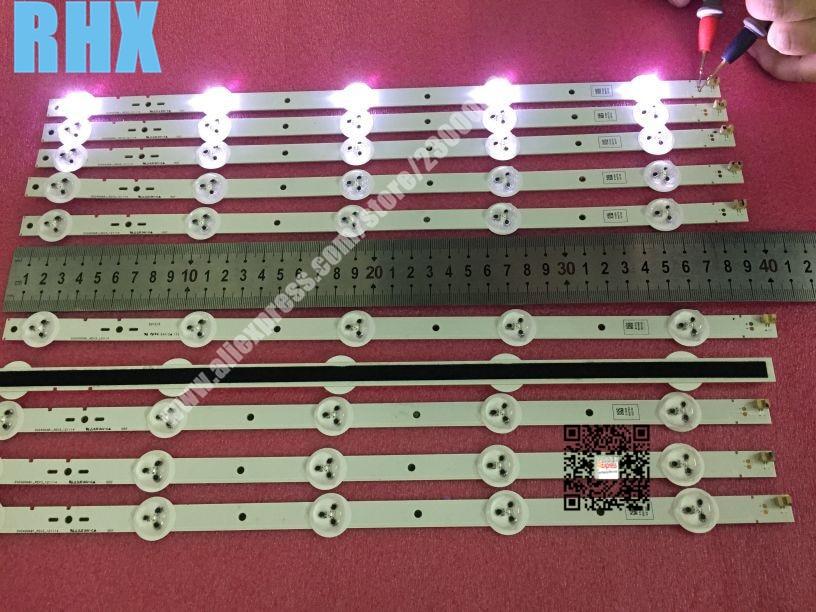 FÜr Sony Hintergrundbeleuchtung, Led Streifen, Svg400a81_rev3, _ 121114. Ist Verwendet 1 Stück = 5led 395mm