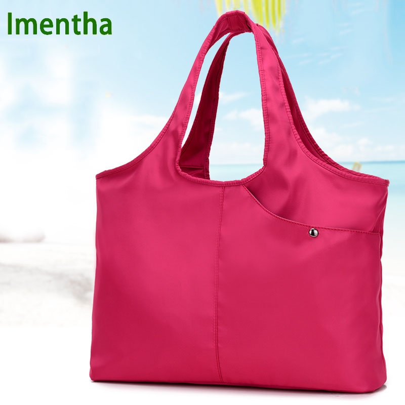 ladies hand bag women Top-Handle Bags female nylon tote bags for women purses and handbags Hobos shopping beach handbags