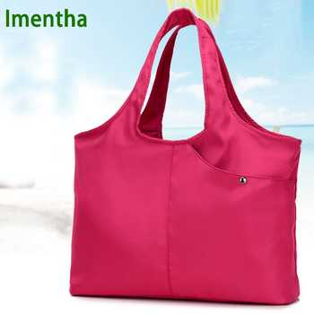 ladies hand bag women Top-Handle Bags female nylon tote bags for women purses and handbags Hobos shopping beach handbags - DISCOUNT ITEM  38% OFF All Category