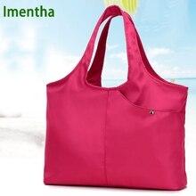 Женская сумка для рук женская сумка с ручкой сверху Женская нейлоновая сумка-тоут для женщин кошельки и женские сумки через плечо шоппинг пляжные сумки