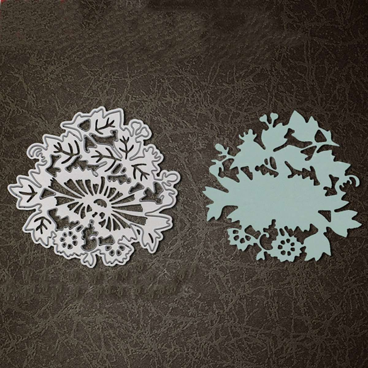 Scrapbook paper aliexpress - Flower Plant Pattern Scrapbooking Paper Embossing Diy Steel Stencil Cutting Fancy Dies Crafts Photo Card Album